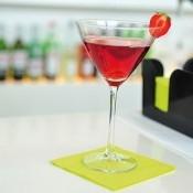 Mank Cocktail Servietten uni 25x25cm aus Tissue