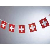 Wimpelkette Schweiz
