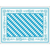Tischset Bayern