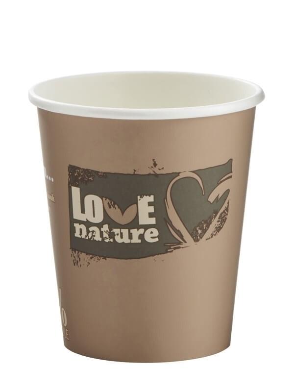 Kartonbecher Bio 4.00dl, Love-nature