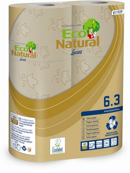 Toilettenpapier Eco Natural 3-lagig