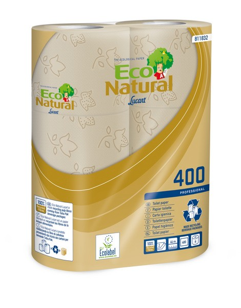 Toilettenpapier Eco Natural 2-lagig