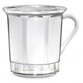 Kaffeetasse 3dl mit Henkel, glasklar