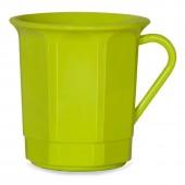 Kaffeetasse 3dl mit Henkel, grün