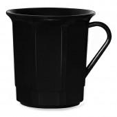 Kaffeetasse 3dl mit Henkel, schwarz