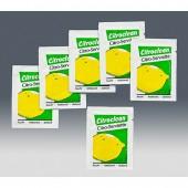 Feuchtserviette mit Citronenduft