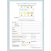 Clean Card PRO Testprotokoll