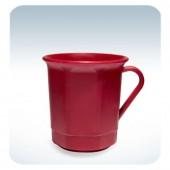 Kaffeetasse 3dl mit Henkel, rot