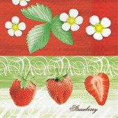 Mank Serviette STRAWBERRY