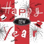 Mank Serviette NEW YEAR