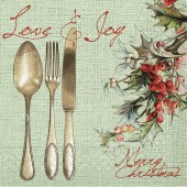 Mank Serviette LOVE & JOY
