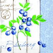 Mank Serviette BLUEBERRY