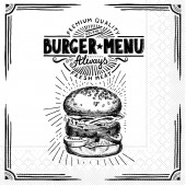 Mank Serviette BURGER MENU