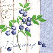 Mank Serviette BLUEBERRY