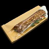 Papierbeutel, Sandwichbeutel, braun, 31x14+6cm