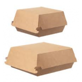 Hamburgerbox klein bio